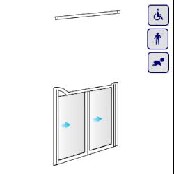 Drzwi do wnęki dla osób starszych, niepełnosprawnych, dzieci AKCV13