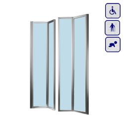 Drzwi do wnęki dla osób starszych, niepełnosprawnych,dzieci AKCH190DOUBLE