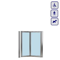 Drzwi do wnęki dla osób starszych, niepełnosprawnych,dzieci AKCH95