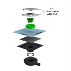 Kratka ściekowa AKC69250IX10S7/69250IX15S7