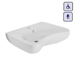 Umywalka ergonomiczna dla osób seniorów oraz niepełnosprawnych AKC10TP60060