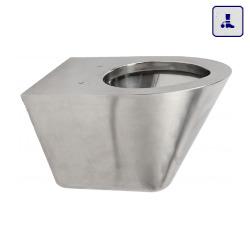 Wisząca toaleta o podwyższonym stopniu wandalizmu AKC650751