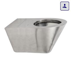 Wisząca toaleta o podwyższonym stopniu wandalizmu AKC650755