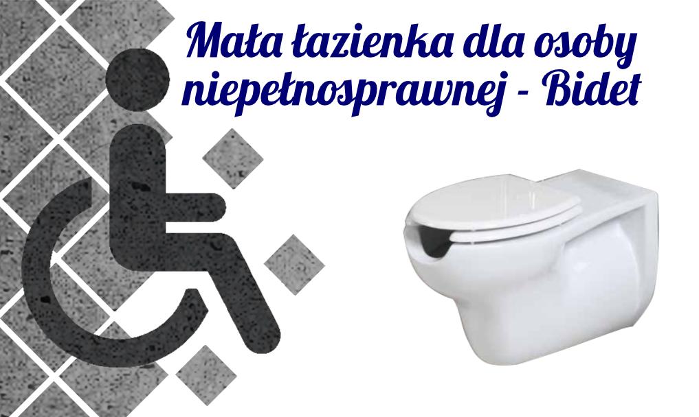Mała łazienka dla osoby niepełnosprawnej – Bidet
