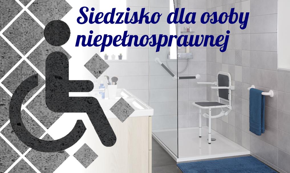 Siedzisko dla osoby niepełnosprawnej