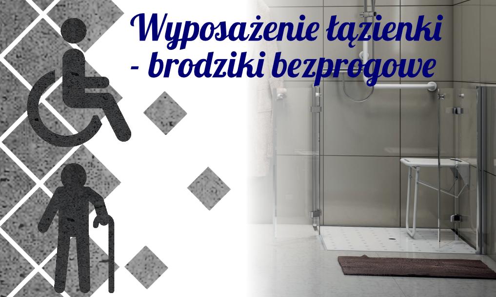 Wyposażenie łazienki – brodziki bezprogowe