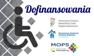 Dofinansowania dla osób niepełnosprawnych
