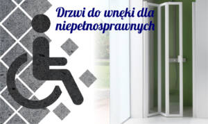 Drzwi do wnęki dla niepełnosprawnych