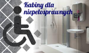 Kabiny dla niepełnosprawnych – funkcje