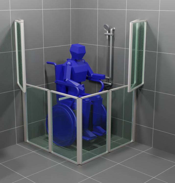 Dostępna łazienka dla użytkowników wózków inwalidzkich - Co znaczy przystosowanie łazienki dla wózków inwalidzkich