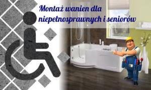 Montaż wanien dla niepełnosprawnych seniorów – dostosowanie łazienki