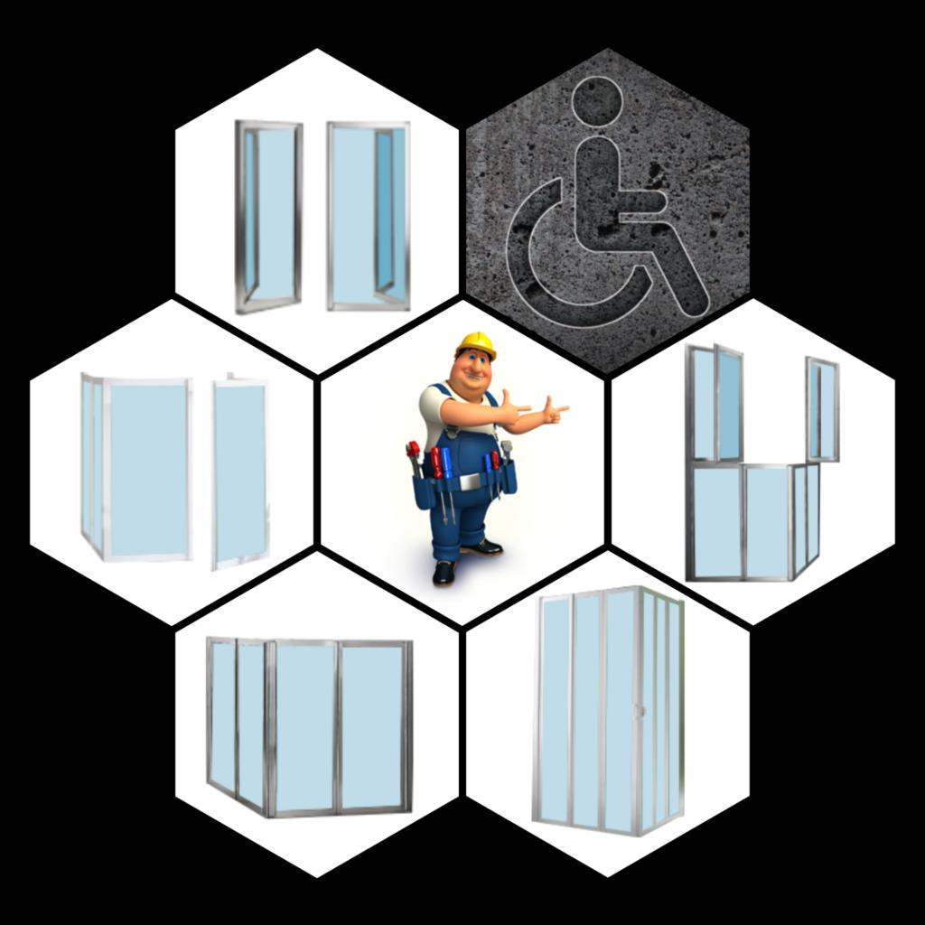 Kryteria wyboru kabiny prysznicowej - kabina prysznicowa dostosowana dla osób niepełnosprawnych